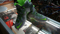 Brand New! Nike Lebron's, Grey and Green, & Red HRT of the Lion