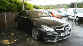 2016 MERCEDES BENZ E220 2.1 CDI AMG LINE 7G-TRONIC PLUS WITH ONLY 34,877 MILES