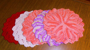 HAND CRAFTED COTTON FACE/DISH CLOTHS