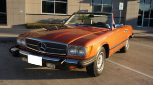 1980 Mercedes-Benz 450SL Convertible Roadster-Price Reduced
