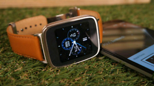 ASUS zenwatch  -- Smartwatch iphone et android