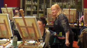 Wine and Painting Fun Parties! St. John's Newfoundland image 6