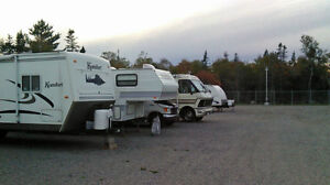 Secure Outdoor RV, Boat and Trailer Storage