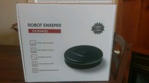 Evertop Robotic floor sweeper/vacuum brand new in box