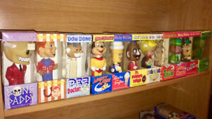 Wacky Wobblers bobble heads assorted new in box