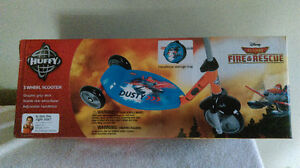 Huffy 3 Wheel Scooter Disney Planes,Fire and Rescue