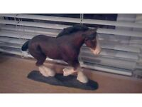 Clydesdale horse ornament - Border Fine Arts