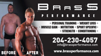 BRANDON CERTIFIED PERSONAL TRAINER AND NUTRITIONIST