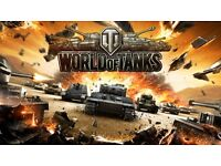World of Tanks eu account with rare E25