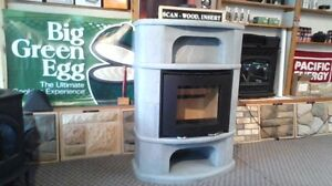 Soap stone fireplace wood stove