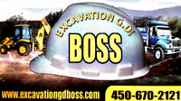 EXCAVATION G D BOSS INC