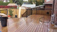 FENCES & DECKS! Affordable, solid, & stunning work guaranteed!