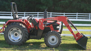 Mahindra 4530 4WD Tractor with loader