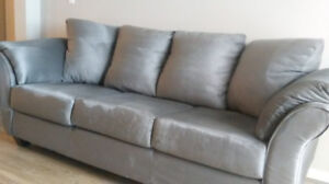 Microfibre couch for sale - bought  5 months ago