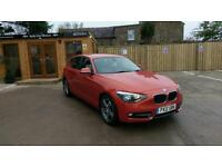 2012 BMW 116 2.0TD SPORT IN VALENCIA ORANGE