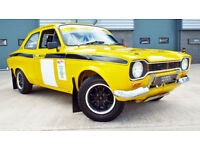 1973 Ford Escort 1.6 Mexico Historic Rally Car! Rare Chance To Own!