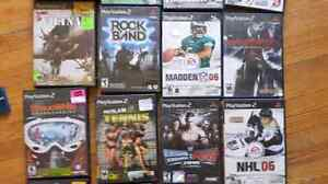 Various psp, ps2, ps3, and x box games Cambridge Kitchener Area image 1