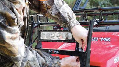 Seizmik UTV Steel Hood Rack For Polaris Ranger Round Roll Cages 08070 Polaris Ranger Hood Rack