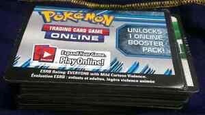 Pokémon Online Trading Card Game Card Codes (96x)