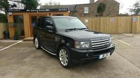 LAND ROVER RANGE ROVER SPORT HSE 2.7TD V6 AUTO IN BLACK