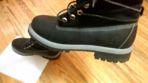 Timberland- Leather Boots **NEW**-Roll Down SIZE- 5M kids/junior