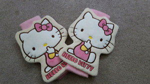 New  Hello Kitty  seat  belt cover/ car accessories