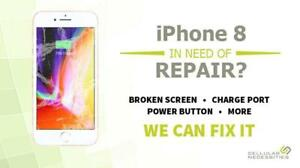 15 Min iPhone 8 Repair Only 79.99 At CellTechNiagara & 90 Day Warranty Call Us Now 289-501-6099