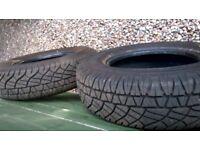HALF PRICE ! Pair of Michelin Tyres 205/80/R16 Latitude Cross