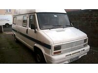 fiat ducato campervan spares or repair