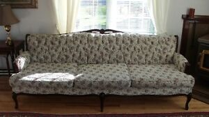 Vintage Button Back Couch