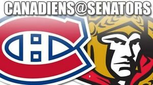 2 *ROW A* tickets Sens vs Habs on October 15th - FREE PARKING!