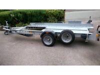 TRAILER IFOR WILLIAMS CAR TRANSPORTER CT115 £1485 ovno