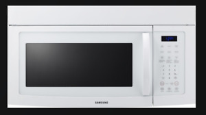 New Samsung Over the Range Microwave (White)