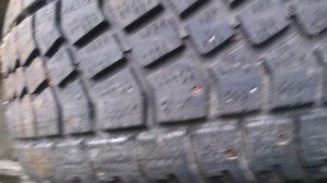 2 studded winter tires 255/70/16