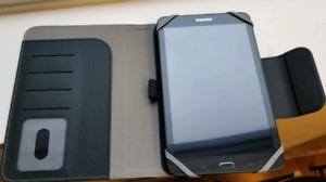 Samsung Galaxy Tab E SM-T377W (plus case)