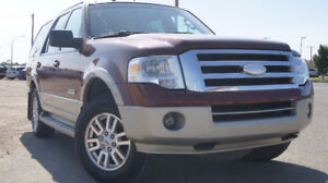 2007 Ford Expedition Eddie Bauer 4x4 NEW TIRES/DVD call 292 7900