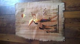 Egyptian art hand painted picture