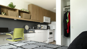 rent out the dormitory in UBC: thunderbird studio (single room)