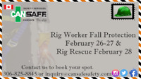 Rig Worker Fall Protection and Rig Rescue Safety Courses