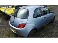05 plate ford ka **trade to clear as no mot**