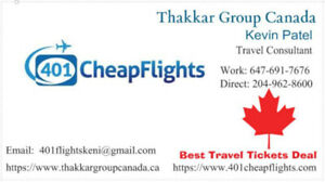 Get best deal for your all Domestic and International flights