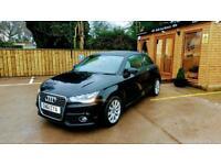 2012 AUDI A1 1.4 TFSI ( 122ps )SPORT 3 DOOR IN BLACK