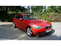 2013 BMW 114i 1.6 SPORT WITH ONLY 59,655 MILES WITH SERVICE HISTORY