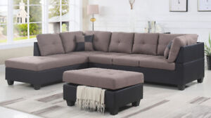 SECTIONAL SOFA ON DEAL:END OF WINTER SALE