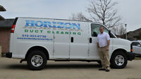 **HORIZON DUCT CLEANING** Duct, Furnace & Dryer Vent Cleaning