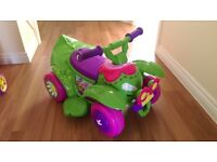 Flower Battery Operated Car