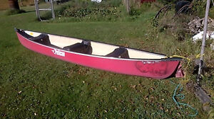 14' 2 Seater Canoe in great shape for sale or trade