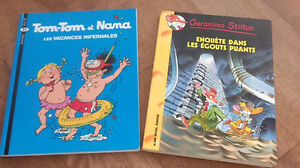 TOM-TOM ET NANA ET GERONIMO STILTON