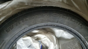 6 BF Goodrich Winter Slalom tires