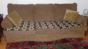 3-seater sofa $350 and loveseat $250 from Ashley, good condition Kitchener / Waterloo Kitchener Area image 1